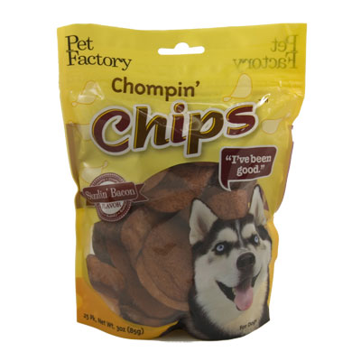 Pet Factory Chompin' Chips Sizzlin' Bacon 68273