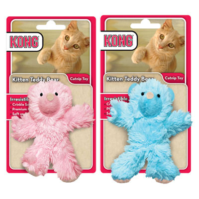 KONG® Teddy Bear Kitten Toy 711613
