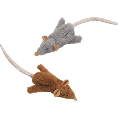 "Spot® Skinneeez™ Mouse Toy for Cats 7"" 72721"
