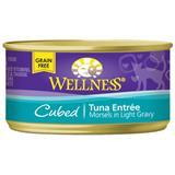 Wellness® Cubed Tuna Entree Canned Cat Food 3 oz. 74985