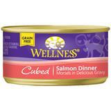 Wellness® Cubed Salmon Dinner Canned Cat Food 3 oz. 74992