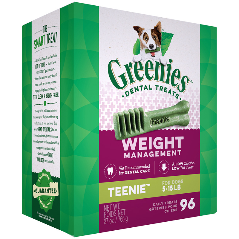 Greenies Lite Dog Treats Tub-Pak 27 oz. 75770b