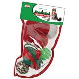 Spot® Holiday Cat Stocking Small, 5 toys 77231