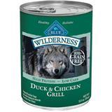 Blue Buffalo BLUE™ Wilderness™ Duck & Chicken Grill Can Dog Food, 12.5 oz. 7820641