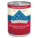 Blue Buffalo Homestyle Recipe Fish & Sweet Potato Dinner with Garden Vegetables 12.5 oz. Dog Food 7820646