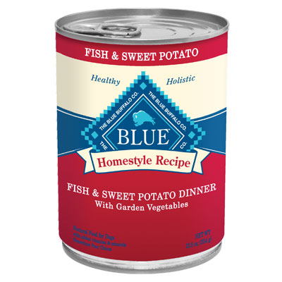 Blue Buffalo Fish & Sweet Potato Dinner with Garden Vegetables 12.5 oz. 7820646