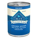 Blue Buffalo Homestyle Recipe Chicken Dinner With Garden Vegetables & Brown Rice 12.5 oz. Dog Food 7820647