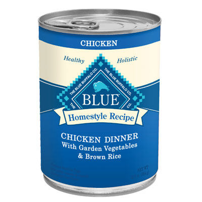 Blue Buffalo Homestyle Recipe Chicken Dinner With Garden Vegetables & Brown Rice 12.5 oz. 7820647