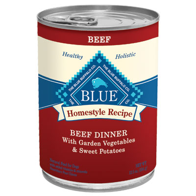 Blue Buffalo Homestyle Recipe Beef Dinner With Garden Vegetables & Sweet Potatoes 12.5 oz. 7820648