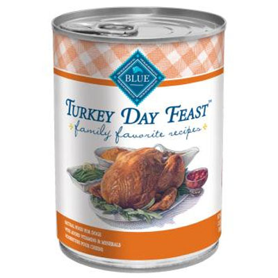 Blue Buffalo Turkey Day Feast Family Favorite Recipe 12.5 oz. 7820649