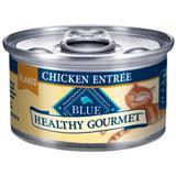 Blue Buffalo Healthy Gourmet Flaked Chicken Entree Cat Food 3 oz. 7820684