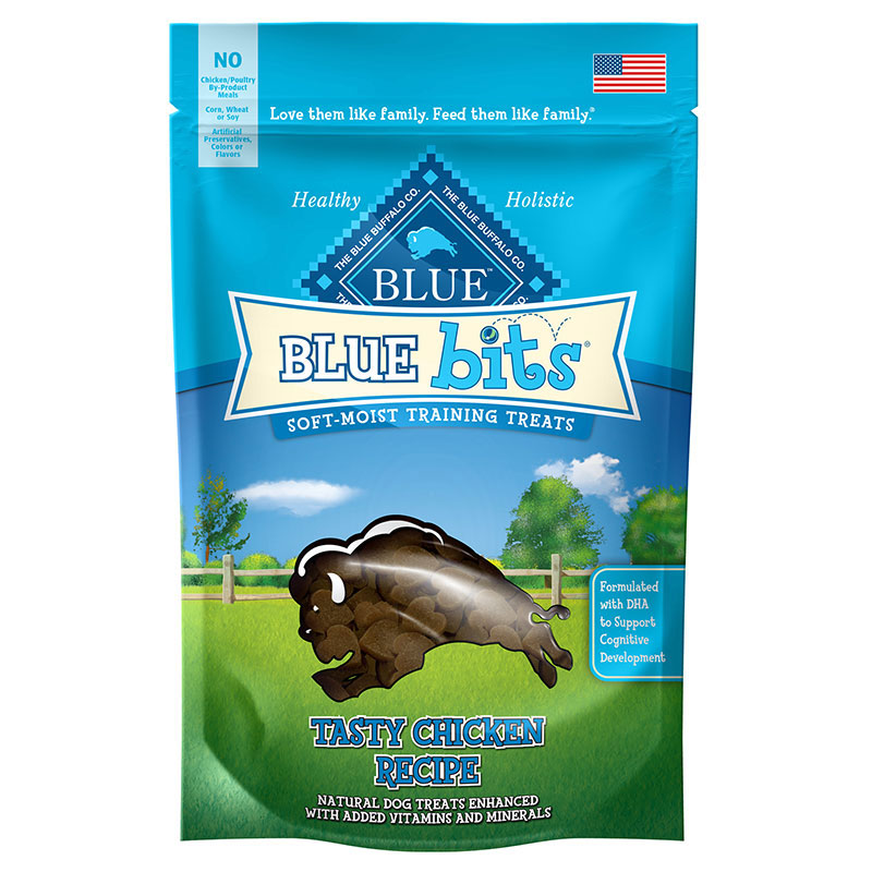 Blue Buffalo BLUE Bits™ Natural Soft-Moist Training Treats for Dogs 4 oz. Chicken 7820685