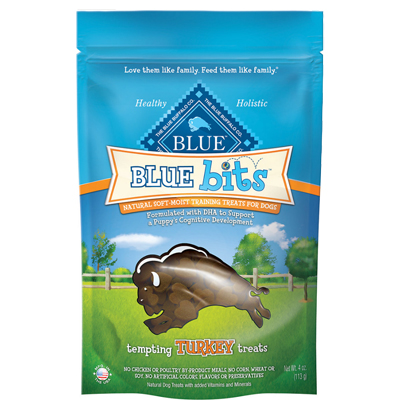 Blue Buffalo BLUE Bits Natural Soft-Moist Training Treats Turkey 4 oz. 7820686
