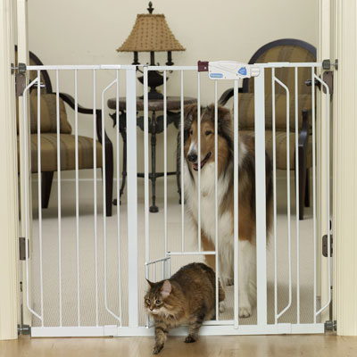 Carlson™ Pet Products Extra Tall Walk-Thru Gate