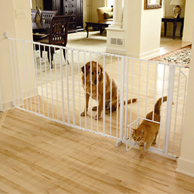 "Carlson Maxi Walk -Thru "" Gate w Door 38"" x 37-60 80143"