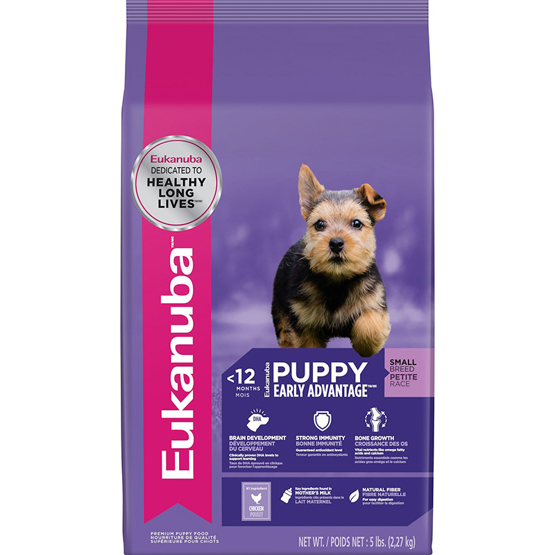 Eukanuba® Small Breed Puppy Food 80414b