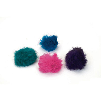 "Coastal® Rascals® Fuzzy Ball Cat Toy 1.5"" 815041"
