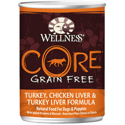 Wellness® Core Turkey, Chicken Liver & Turkey Liver Formula Canned Dog Food 908868b