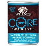 Wellness® Core Grain Free Salmon, Whitefish & Herring Formula Canned Dog Food 908869b