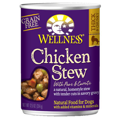 Wellness® Chicken Stew with Peas and Carrots 12.5 oz.