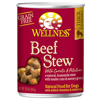 Wellness® Beef Stew with Carrots and Potatoes Wet Dog Food 12.5 oz.