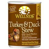 Wellness® Turkey & Duck Stew with Sweet Potatoes & Cranberries Canned Dog Food 12.5 oz. 94015