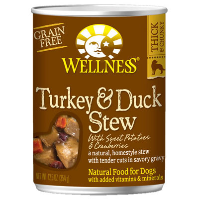Wellness® Turkey and Duck Stew with Sweet Potatoes and Cranberries
