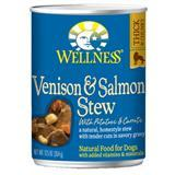 Wellness® Venison & Salmon Stew with Potatoes & Carrots Canned Dog Food 12.5 oz. 94016