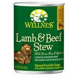 Wellness® Lamb & Beef with Brown Rice & Apples Canned Dog Food 12.5 oz. 94017