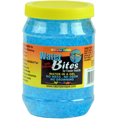 Nature Zone Water Bites for Feeder Insects, 1 qt. 9510