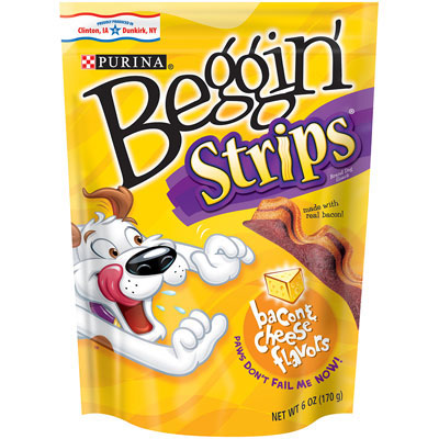 Beggin' Strips™ Treats for Dogs Bacon & Cheese Flavor Strips 9668b