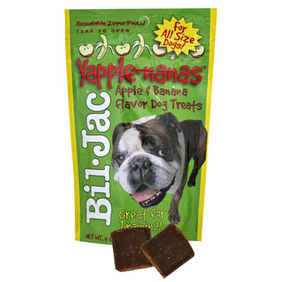Bil-Jac® Soft Treats for Dogs YappleNanas® 4oz. 98974
