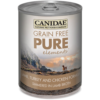CANIDAE® Grain Free PURE Elements® Canned Formula Dog Food 13 oz. 99009