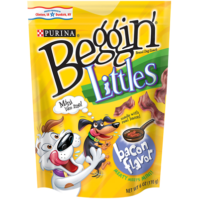 Beggin' Strips™ Treats for Dogs Littles Original Bacon Flavor 6 oz. 99542