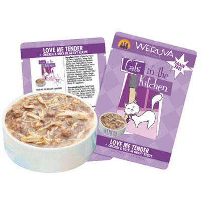 Weruva Cats in the Kitchen Love Me Tender Pouch 3 oz. 99932
