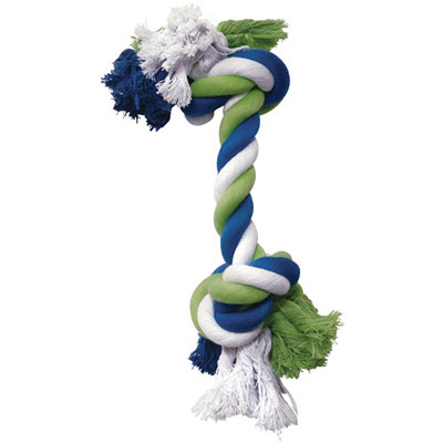 Dogit® Multicolored Knotted Rope Bone Toys I000286b