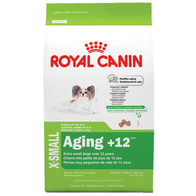 Royal Canin® X-SMALL Aging + 12™ Dog Food 2.5 lbs. I000337