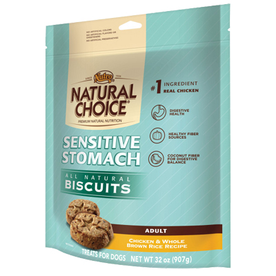 Nutro® Natural Choice® All Natural Biscuits Sensitive Stomach 32 oz. I000352
