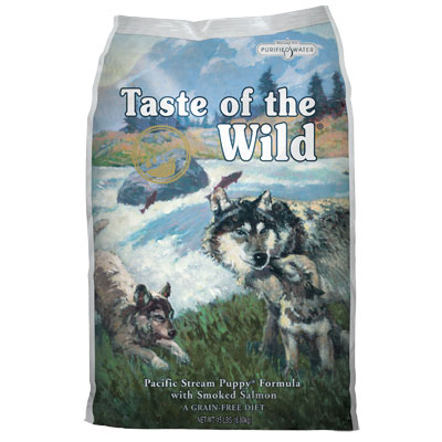 Taste of the Wild® Pacific Stream Puppy® Formula with Smoked Salmon Dog Food I003489b