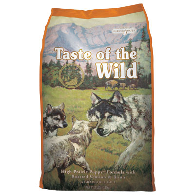 Taste of the Wild® High Praire Puppy® Formula with Roasted Venison & Bison Puppy Food I004307