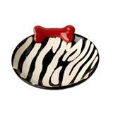 Petrageous®  Zebra Buzz Stoneware Collection for Cats I000672B
