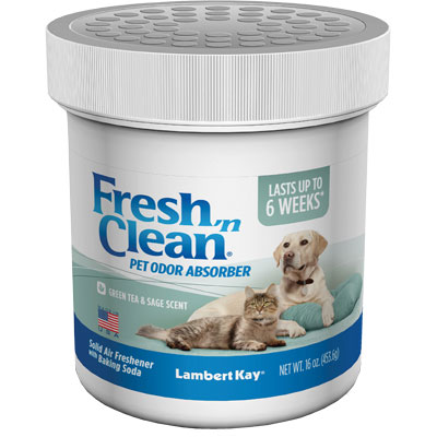 Lambert Kay® Fresh 'n Clean® Solid Pet Odor Deodorizer Green Tea & Sage 16 oz. I001234