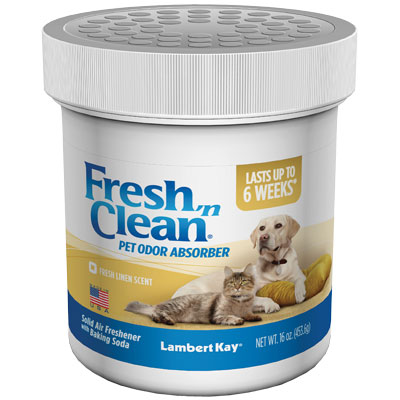 Lambert Kay® Fresh 'n Clean® Solid Pet Odor Deodorizer Fresh Linen 16 oz. I001235
