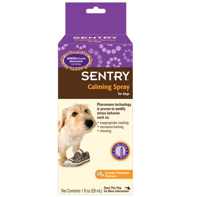 Sentry® Calming Spray for Dogs 1oz. I001236