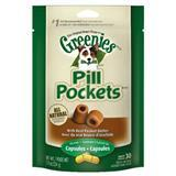 Greenies® Pill Pockets® for Dogs Peanut Butter Formula for Capsules 7.9 oz. I001328