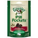 Greenies® Pill Pockets for Dogs Hickory Smoke Formula for Tablets 2.6 oz. I001329