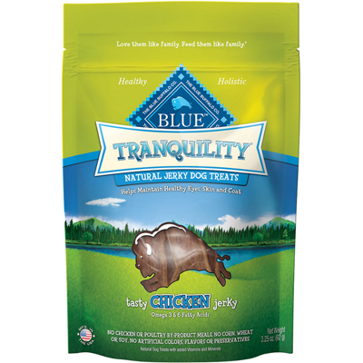 Blue Buffalo BLUE ™ Tranquility™ Natural Jerky Dog Treats, 3.25 oz. I001360