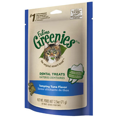 Feline Greenies® Dental Treats Tempting Tuna I001373e