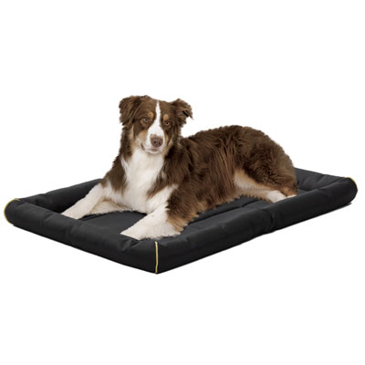 MidWest® Quiet Time™ MAXX Ultra-Rugged Pet Beds Black I001402b