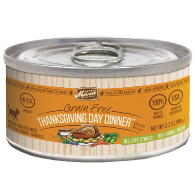 Merrick® Grain Free Thanksgiving Day Dinner™ Classic Recipe for Toy + Small Breeds Dog Food I001461